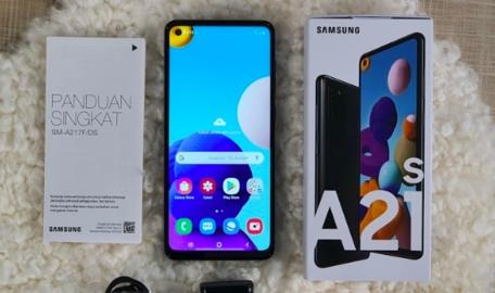 Samsung Galaxy A21s. FOTO: Merdeka