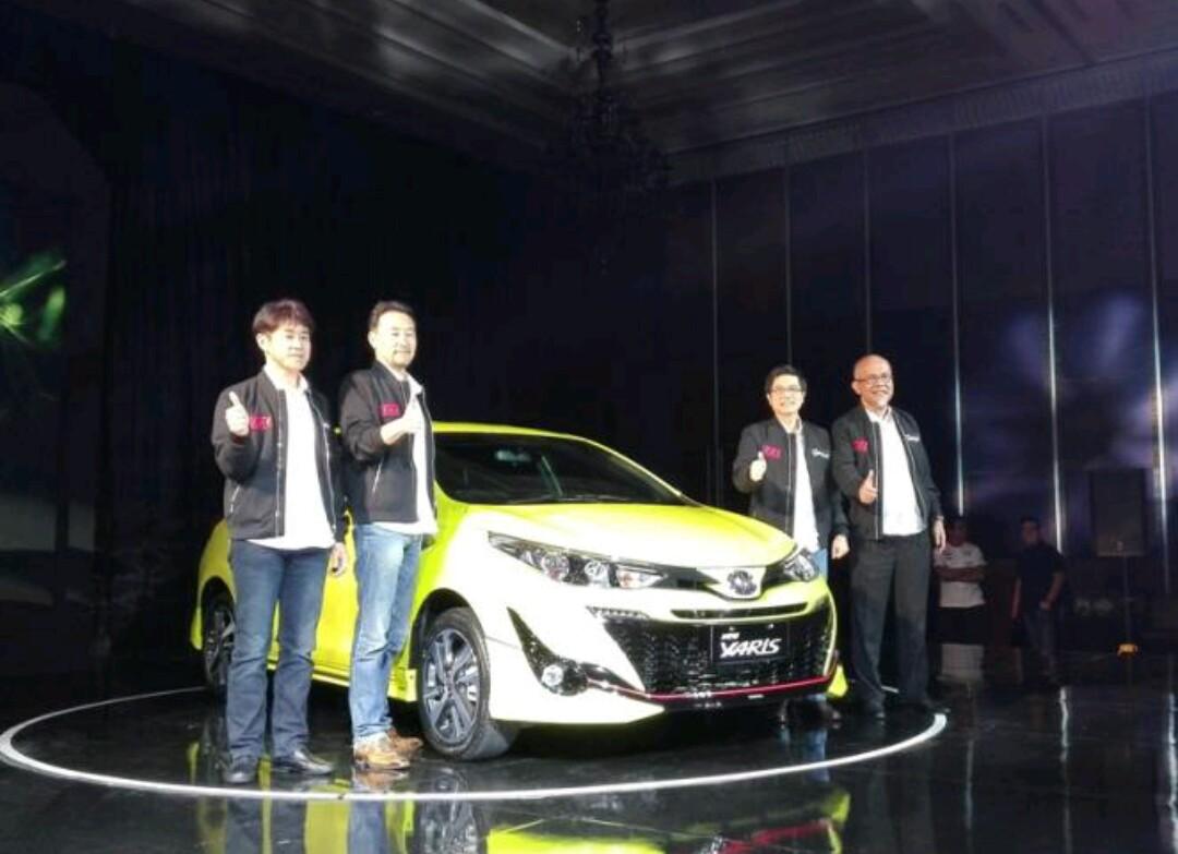 Launching New Toyota Yaris