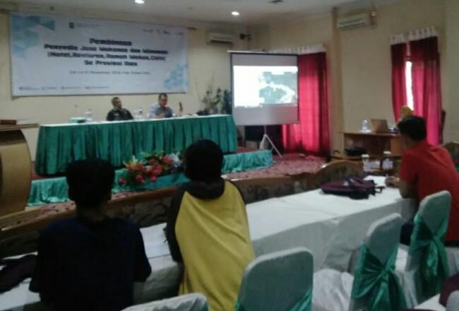 Pelatihan Manajemen/ Pengembangan Jasa Rekreasi, Hiburan, Olahraga se-Provinsi Riau di Sapadia Hotel, Pasir Pangaraian, Selasa (26/11/2019).