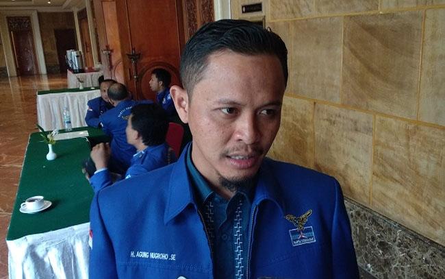 Anggota Dewan Perwakilan Rakyat Daerah (DPRD) Riau, Fraksi Demokrat, Agung Nugroho