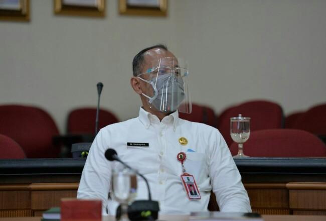 Kepala Dinas PUPR-PKPP Riau, M Taufiq OH
