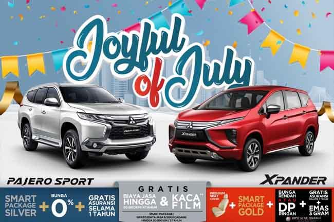 MMKSI menawarkan promo Joyful of July.