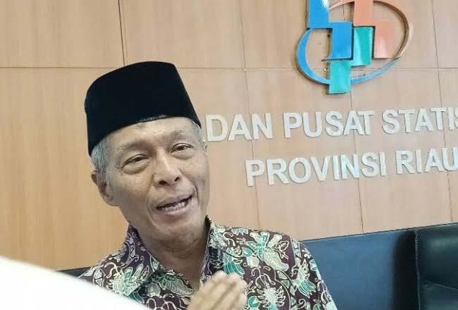 Kepala BPS Riau Misparuddin