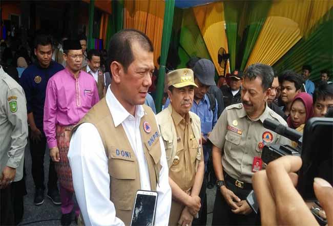 Kepala BNPB RI Letjen Donni Munardo