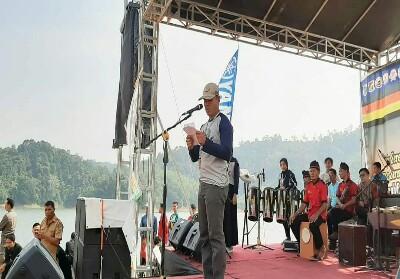PT Yamaha Alfa Scorpii ikut berpartisipasi sebagai sponsor di ajang Kampar International Dragonboat Festival.