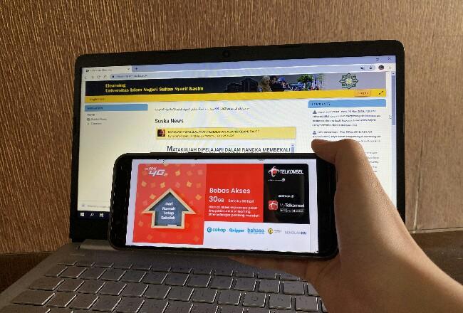 Telkomsel dan Universitas Islam Negeri (UIN) Sultan Syarif Kasim Riau telah menyepakati kerja sama strategis terkait Paket Bebas Akses Ilmupedia 30 GB selama 30 hari ini.