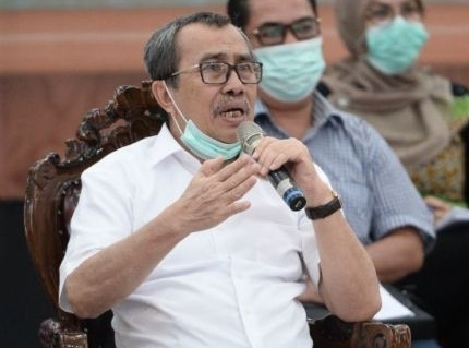 Gubernur Riau Syamsuar..
