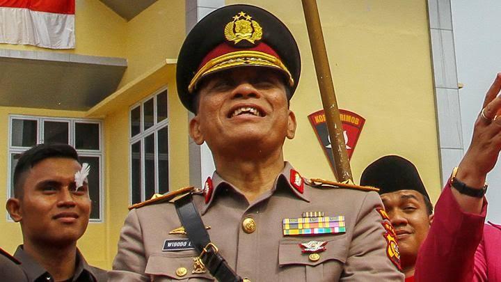 Kapolda Riau, Irjen Widodo Eko Prihastopo.