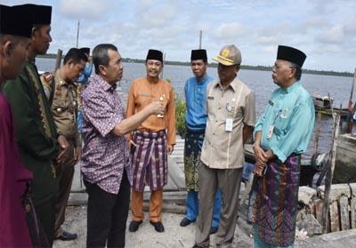 Peninjauan perencanaan pembangunan pelabuhan penyeberangan roro dari Ketam Putih Kecamatan Bengkalis ke Dakal Kecamatan Tasik Putri Puyu Kabupaten Kepulauan Meranti.