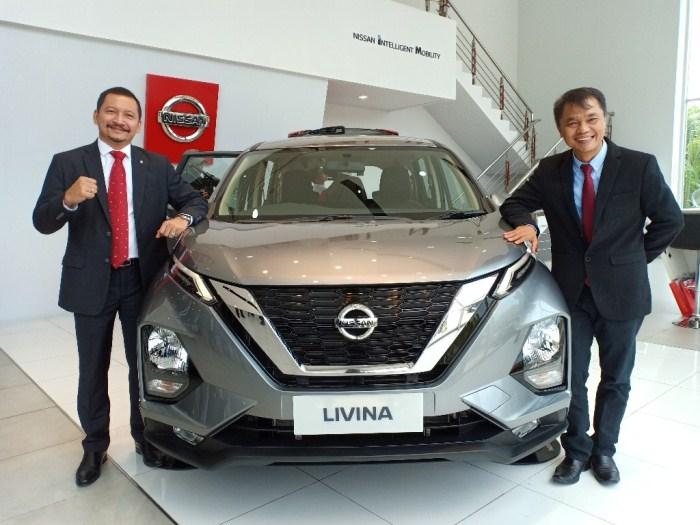 All New Livina di showroom Nissan SM Amin, Pekanbaru