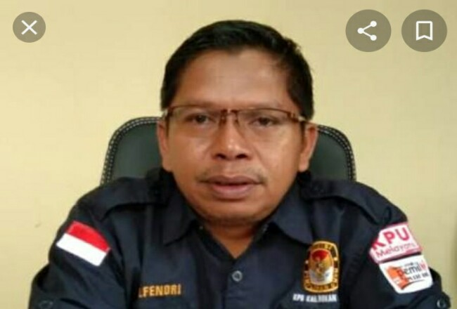 Ketua KPU Rohul Elfendri