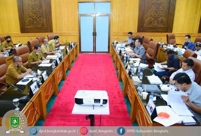 Komisi DPRD Bengkalis bahas RKUPA RPPAS 2020.
