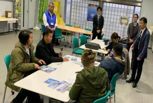 Walikota Pekanbaru, Firdaus MT dalam satu agenda kunjungan di Jepang, Rabu (15/1/2020).Foto: Tribunpekanbaru