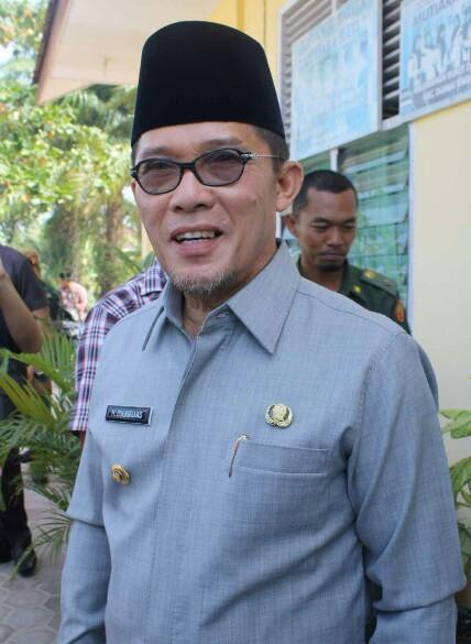 Walikota Dumai Drs H Zulkifli AS MSi