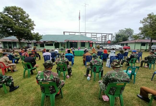 Rakor pencegahan Covid-19 di Kecamatan Bagan Sinembah.