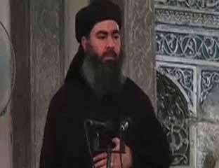 Pimpinan militan ISIS, Abu Bakr al-Baghdadi.
