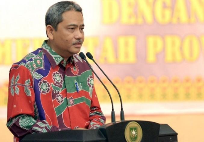 Sekretaris Daerah (Sekda) Provinsi Riau, Ahmad Hijazi.