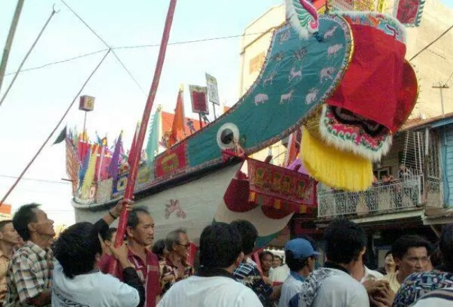 Festival Bakar Tongkang di Bagansiapiapi, Rohil.