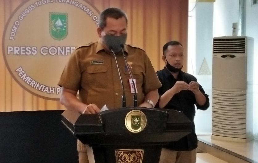 Kepala Dinas (Kadis) Peternakan dan Kesehatan Hewan Riau, Rahmat Setiyawan.