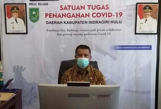 Juru Bicara Penanganan Covid-19 di Kabupaten Inhu Jawalter