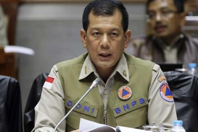 Kepala BNPB, Letjen TNI Doni Monardo