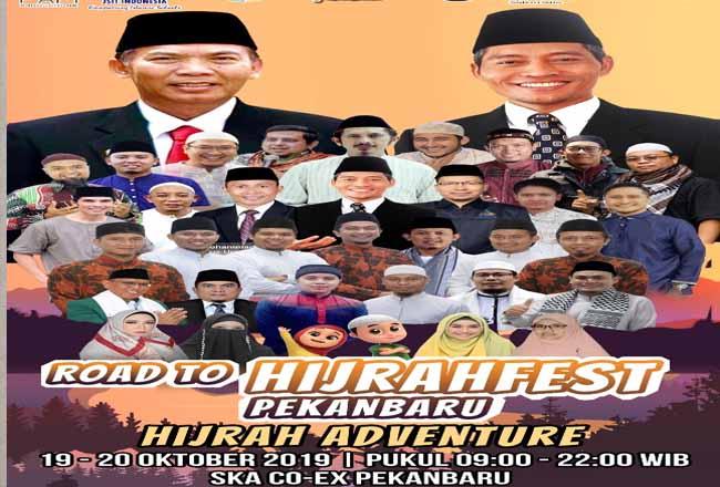 Hijrahfest segera hadir di Pekanbaru.