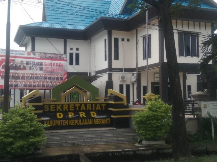 Gedung Kantor Setwan DPRD Kepulauan Meranti