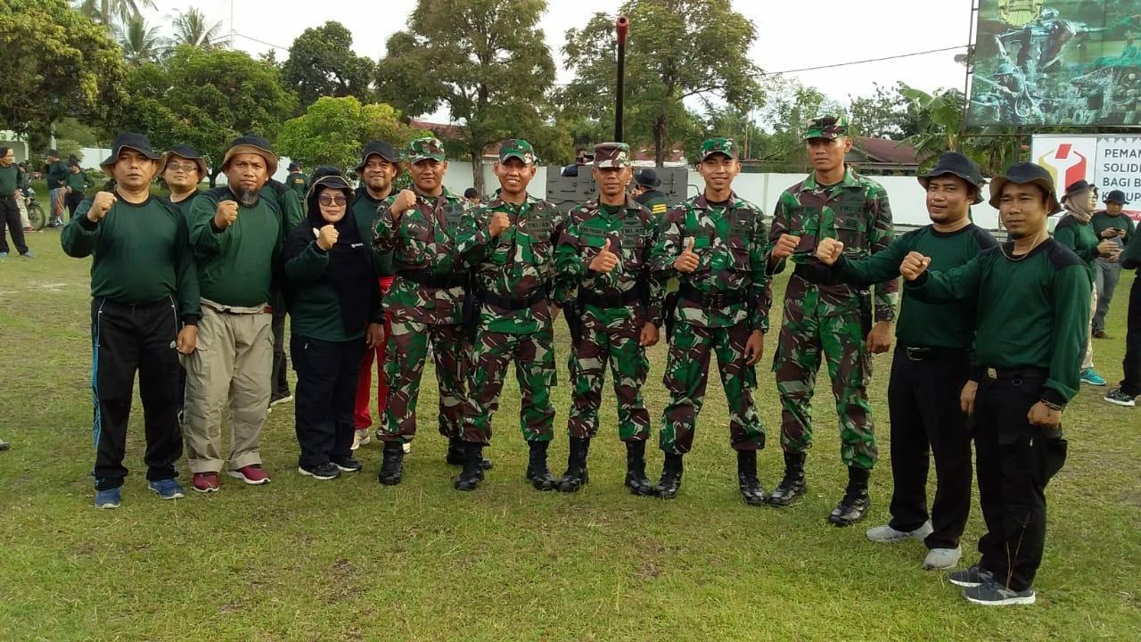 Pelatihan wawasan kebangsaan Bawaslu se-Riau.