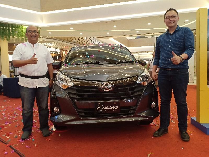Agung Toyota resmi meluncurkan New Calya.