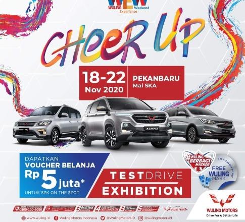 Wuling Experience Weekend yang bertajuk Cheer Up Indonesia