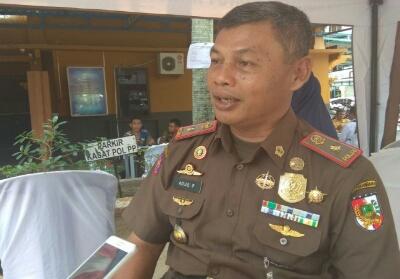 Kepala Satpol PP Pekanbaru Agus Pramono