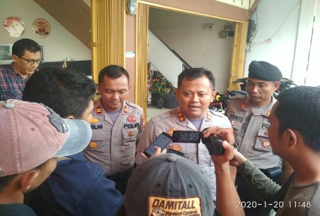 Kapolres Meranti AKBP Taufiq Lukman Nurhidayat