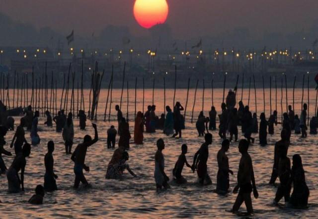 Sungai Gangga, India. Foto: CNNIndonesia