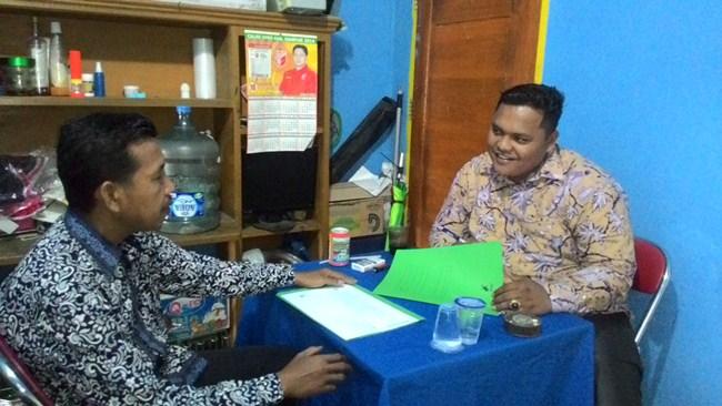 Ketua Panwaslu Kabupaten Kampar Marhaliman