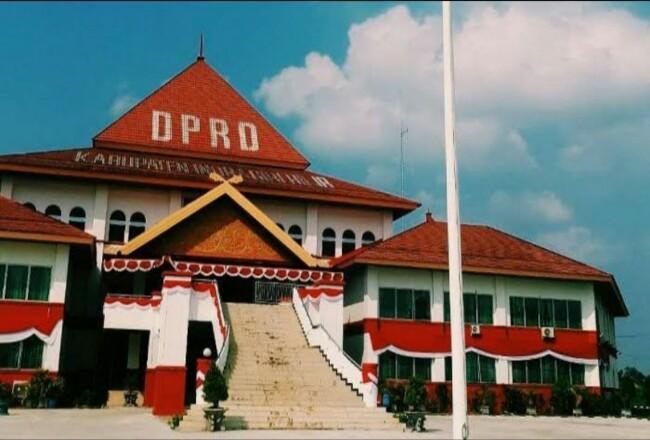 Kantor DPRD Kabupaten Inhil.