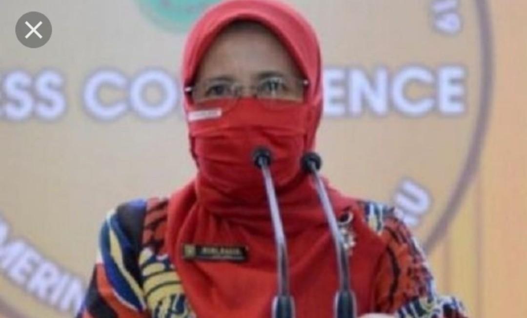 Kepala Dinas Kesehatan Riau Mimi Yuliani Nazir