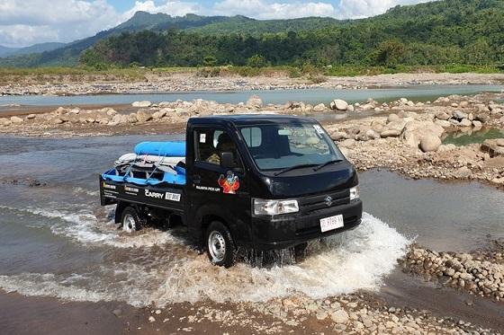 Suzuki Carry menjadi mobil terlaris di Indonesia. Foto: dok. Suzuki Indomobil Sales