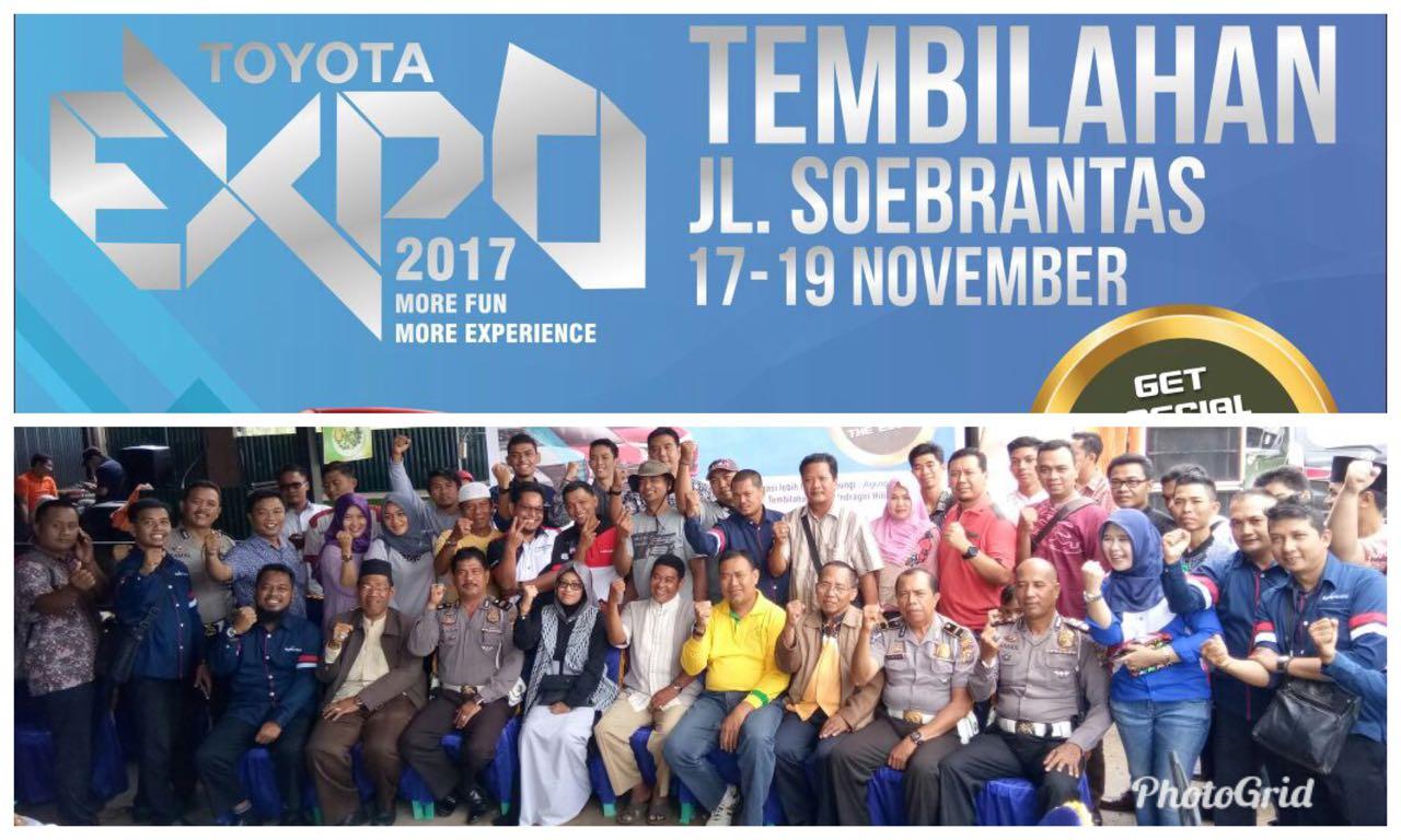 Pembukaan Toyota Expo di Tembilahan