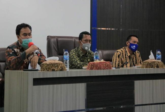 Tim penilai danInspektorat Riau turun ke Kabupaten Rohul, untuk melakukan entry meetingmengukur dan menilai kinerja kepala daerah selama 1 periode.