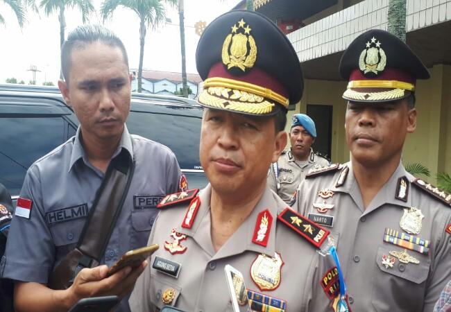 Kapolda Riau Irjen Pol Agung Setya Imam Effendi.