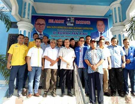 Syamsuar Resmi Mendaftar ke PAN Riau