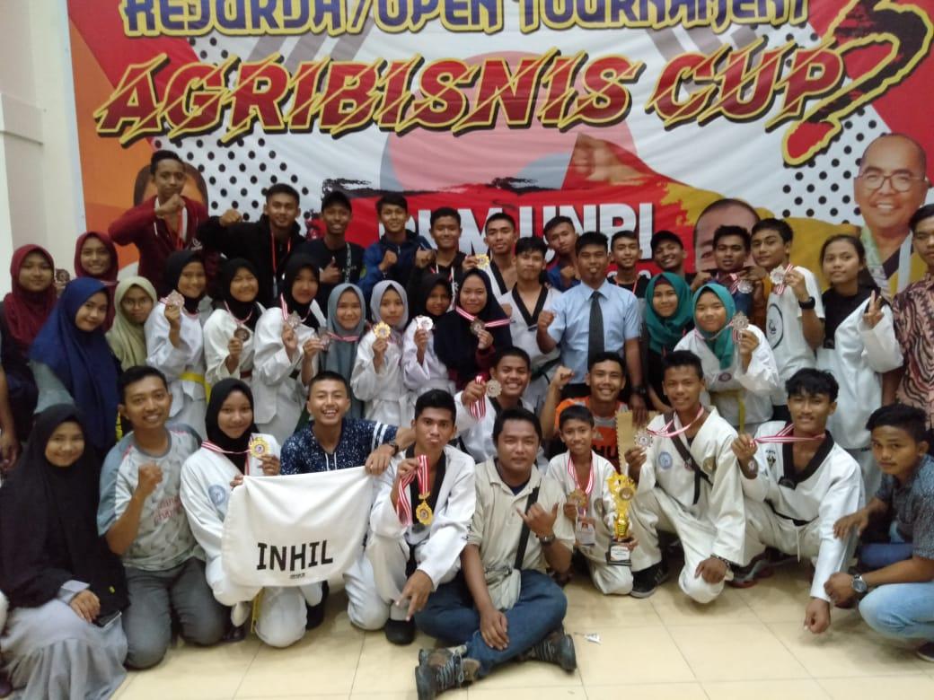 Peserta Agribusiness Taekwondo Cup 2018 Inhil