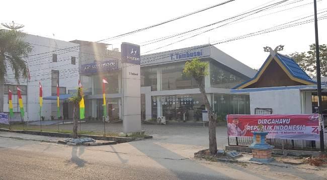 Showroom Hyundai Jl Tuanku Tambusai Pekanbaru