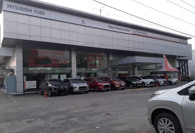 Dealer Mitsubishi DIPO Pekanbaru