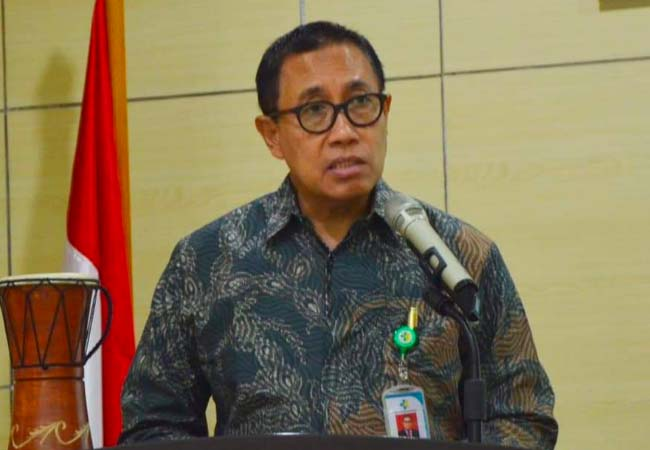 Kepala Badan Pengembangan dan Pemberdayaan Sumber Daya Manusia (PPSDM) Kementerian Kesehatan Abdul Kadir