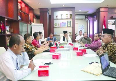 Kunker Komisi V DPRD Riau ke Dispora DKI Jakarta.