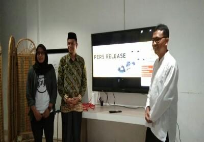 Konferensi pers Konser Amal Riau Berwakaf.