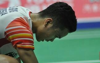 Anthony Ginting gagal meraih gelar juara tunggal putra China Open 2019.
