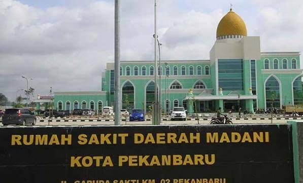 RSD Madani Pekanbaru.