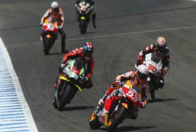 Takaaki Nakagami berhasil jadi yang tercepat di FP2 MotoGP Andalusia 2020. Foto: CNNIndonesia